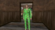 Female Green Pajamas DLC for GTA San Andreas miniature 2