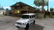 Mercedes-Benz G55 AMG (W463) 2008 for GTA San Andreas miniature 1