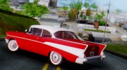 1957 Chevrolet Bel Air Sport Coupe for GTA San Andreas miniature 6
