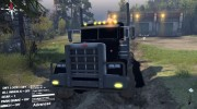Peterbilt 379 v1.1 black for Spintires 2014 miniature 2