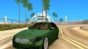 BMW 3 Series F30 Stanced 2012 для GTA San Andreas миниатюра 1