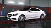 Mercedes-Benz C63 AMG Coupe for Euro Truck Simulator 2 miniature 3