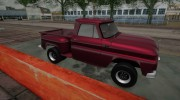 1965 Chevrolet C-10 Stepside Pickup for GTA San Andreas miniature 2