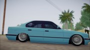 BMW M5 E34 for GTA San Andreas miniature 6