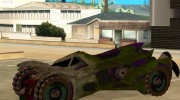 Jokermobile from DC Comics для GTA San Andreas миниатюра 2