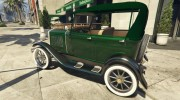 Ford T 1927 Tin Lizzie for GTA 5 miniature 3