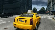 Cadillac CTS-V Taxi for GTA 4 miniature 4