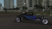 Ford Coupe Hotrod 34 для GTA Vice City миниатюра 5