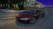 Audi R8 V10 Spyder for GTA San Andreas miniature 1