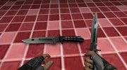 Knife m9 phrobis III для Counter-Strike Source миниатюра 3