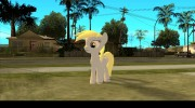 Derpy Hooves (My Little Pony) для GTA San Andreas миниатюра 1