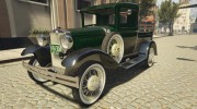 Ford A Pick-up 1930 for GTA 5 miniature 1