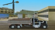 Peterbilt 359 Dumper for GTA Vice City miniature 11