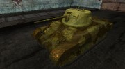 Шкурка для M7 Med for World Of Tanks miniature 1