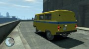 УАЗ 3962 Милиция ЭССР for GTA 4 miniature 2