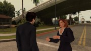 Dana Scully (The X-Files) для GTA San Andreas миниатюра 8