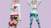 CandyDoll Cute Minnie mouse Set для Sims 4 миниатюра 1
