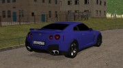 Nissan GT-R R35 Dima GORDEY for GTA San Andreas miniature 2