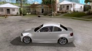 BMW 135i Coupe Stock for GTA San Andreas miniature 2