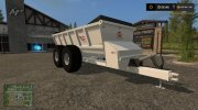Knight SLC 141 manure spreader v1.0 for Farming Simulator 2017 miniature 1