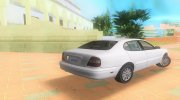 Daewoo Leganza CDX US 2001 for GTA Vice City miniature 2
