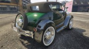 Ford T 1927 Roadster for GTA 5 miniature 9