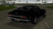 Aston Martin V8 Vantage 70s for GTA Vice City miniature 5