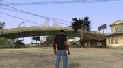 CJ в футболке (Radio X) for GTA San Andreas miniature 5