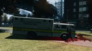 Royal Logistic Corps Bomb Disposal Truck для GTA 4 миниатюра 5