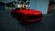 2014 Audi R8 V10 Spyder for GTA Vice City miniature 2