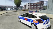 Ford Focus Macedonian Police for GTA 4 miniature 3