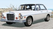Mercedes-Benz 300 SEL 6.3 (W109) 1968 for BeamNG.Drive miniature 1