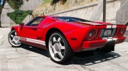2005 Ford GT for GTA 5 miniature 3