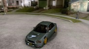 Subaru Impreza WRX STi Tunable for GTA San Andreas miniature 1