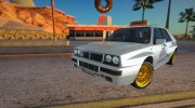 1989 Lancia Delta Integrale HF - School Driving for GTA San Andreas miniature 1