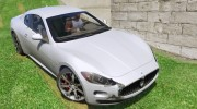 2010 Maserati GranTurismo S for GTA 5 miniature 8