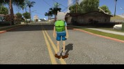 Finn From Cartoon Network Universe Fusionfall Heroes for GTA San Andreas miniature 4