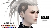 IKAS - Hair style for Sims 4 miniature 4