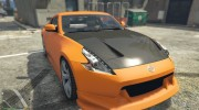Nissan 370z v2.0 for GTA 5 miniature 8