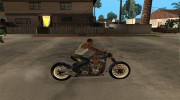 Harley Davidson fatboy Racing Bobber for GTA San Andreas miniature 4