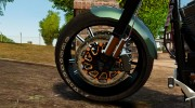 Harley Davidson Fat Boy Lo Racing Bobber для GTA 4 миниатюра 6