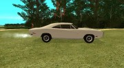 Dodge Charger 1969 for GTA San Andreas miniature 4