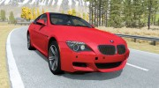 BMW M6 Coupe (E63) 2010 for BeamNG.Drive miniature 1