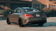 Mercedes-Benz CLA45 AMG Black DTD edition for GTA 5 miniature 2