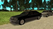 Mercedes-Benz W140 S-класс for GTA San Andreas miniature 7