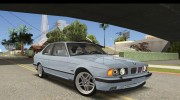 BMW M5 E34 Coupe for GTA San Andreas miniature 4