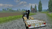 Mercedes-Benz Unimog crane devices Trailer for Farming Simulator 2013 miniature 6