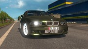 BMW 5-Series E39 for Euro Truck Simulator 2 miniature 2