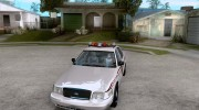 Ford Crown Victoria North Dakota Police для GTA San Andreas миниатюра 1