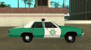 Ford LTD Crown Victoria 1991 San Diego County Sheriff for GTA San Andreas miniature 6
